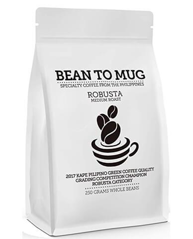 Bean to Mug Specialty Robusta Coffee