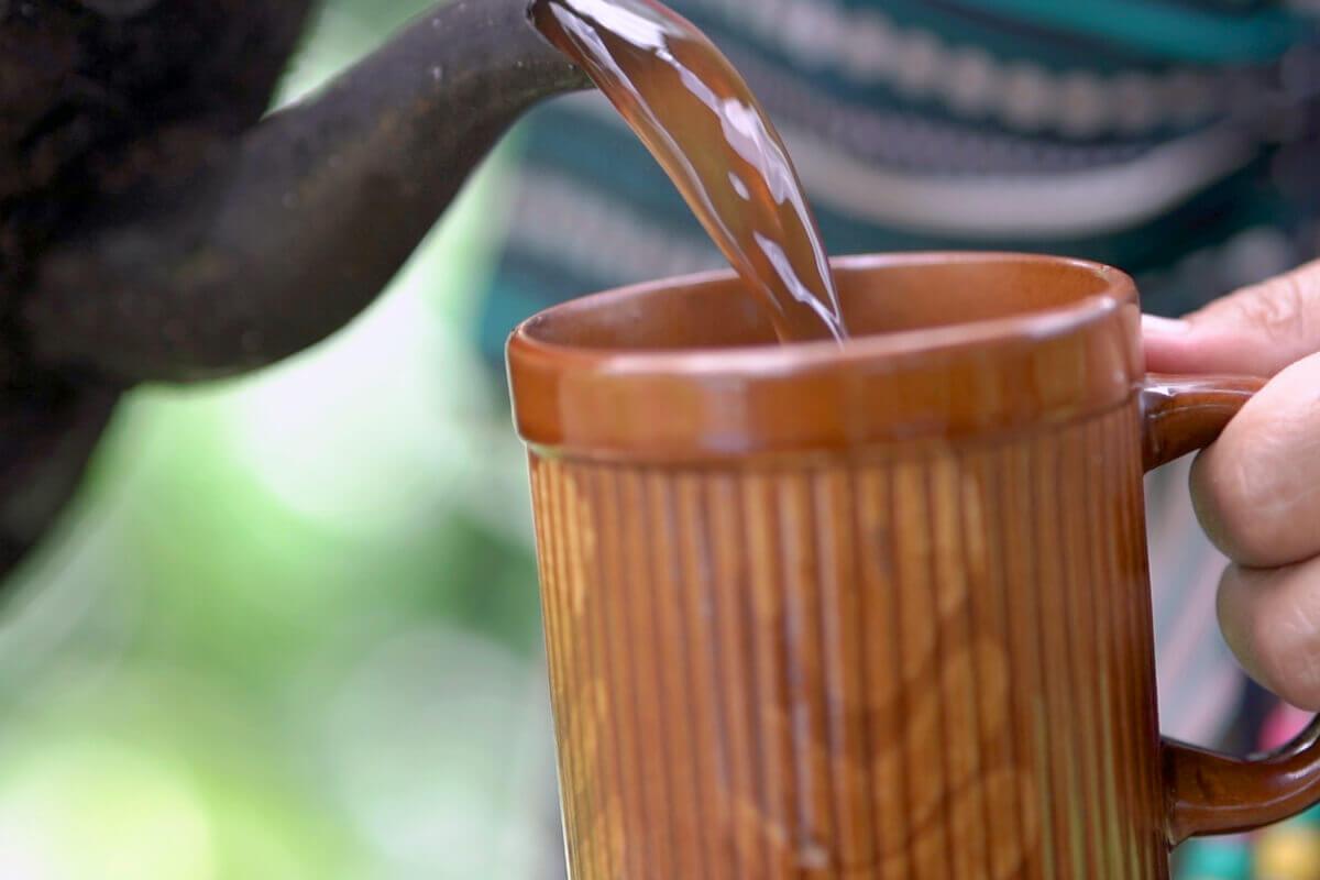 organic coffee drink
